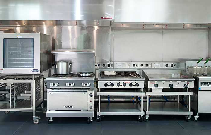 La cocina industrial en bares y cafeter as for Costo de cocina industrial
