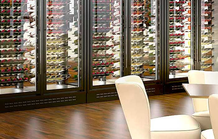 Vinotecas y refrigeradores de vino for Muebles para vinotecas