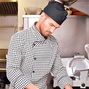 Chaquetillas de cocina para mujer hombre y unisex - Chaquetillas de cocina ...