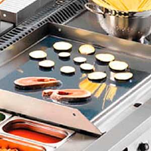 Planchas de cocina para bares y restaurantes - Plancha de cocina para empotrar ...