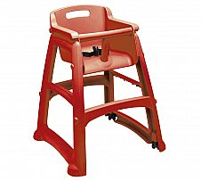Foto Sillita Rubbermaid Sturdy Chair Roja
