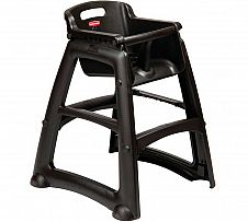 Foto Trona Rubbermaid Sturdy Chair Negro