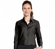 Foto Blusa Sol´s Mujer Embassy Oxford Negro