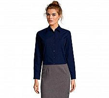 Foto Camisa Mujer Sol´s Executive Azul Oscuro