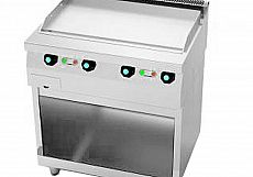 Fry Top 600 Liso Pie Elec