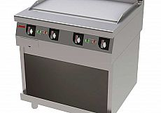Fry Top 750 Liso Pie Elec