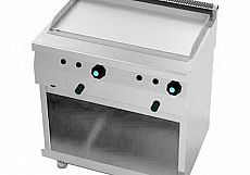 Fry Top Serie 600 Liso Gas