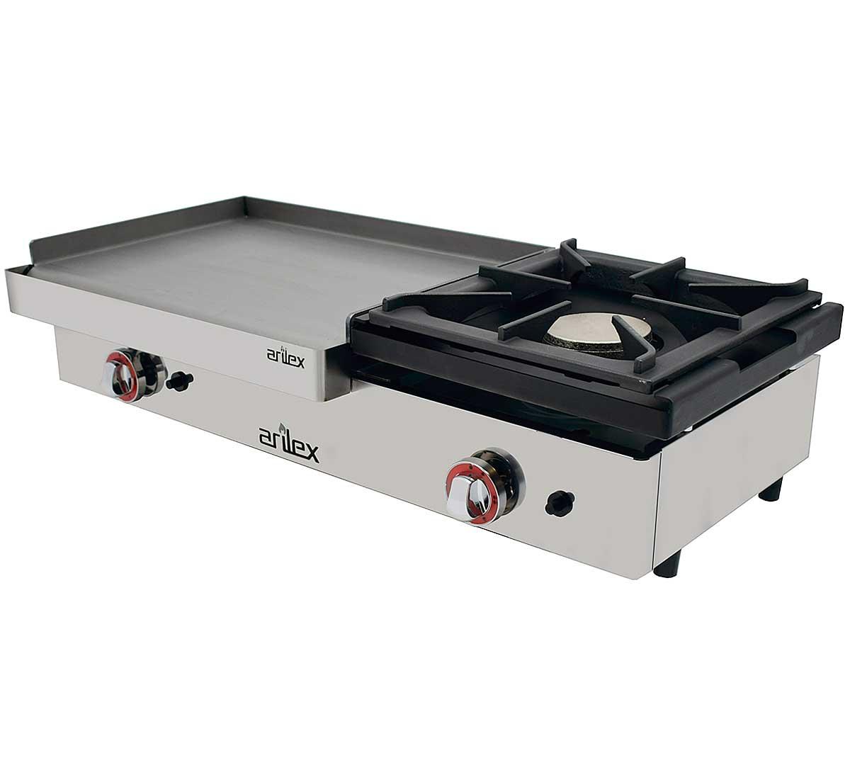 Plancha acero arilex pgrf - Plancha para cocina de gas ...