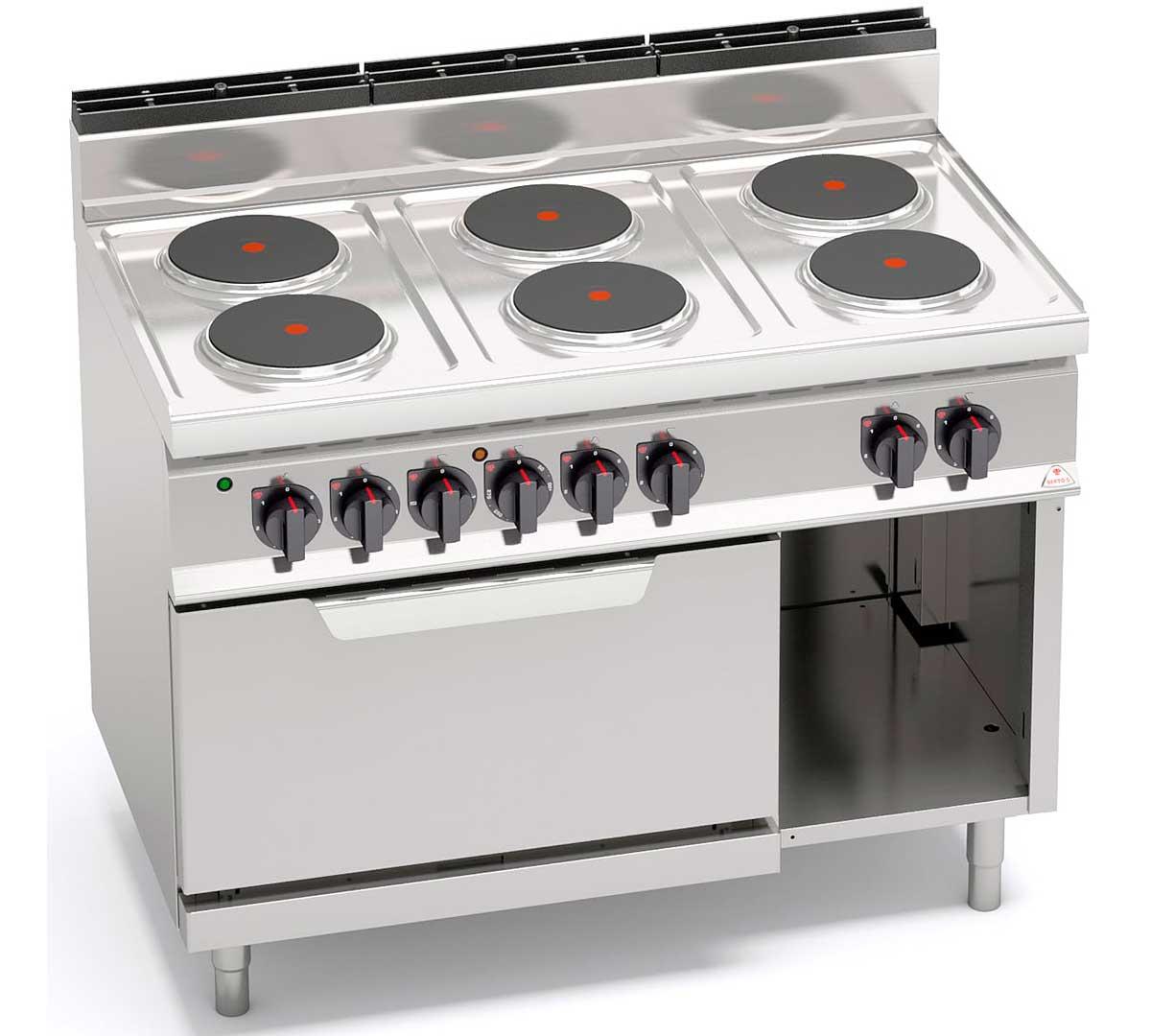 Cocina Bertos 700 Horno High Elect
