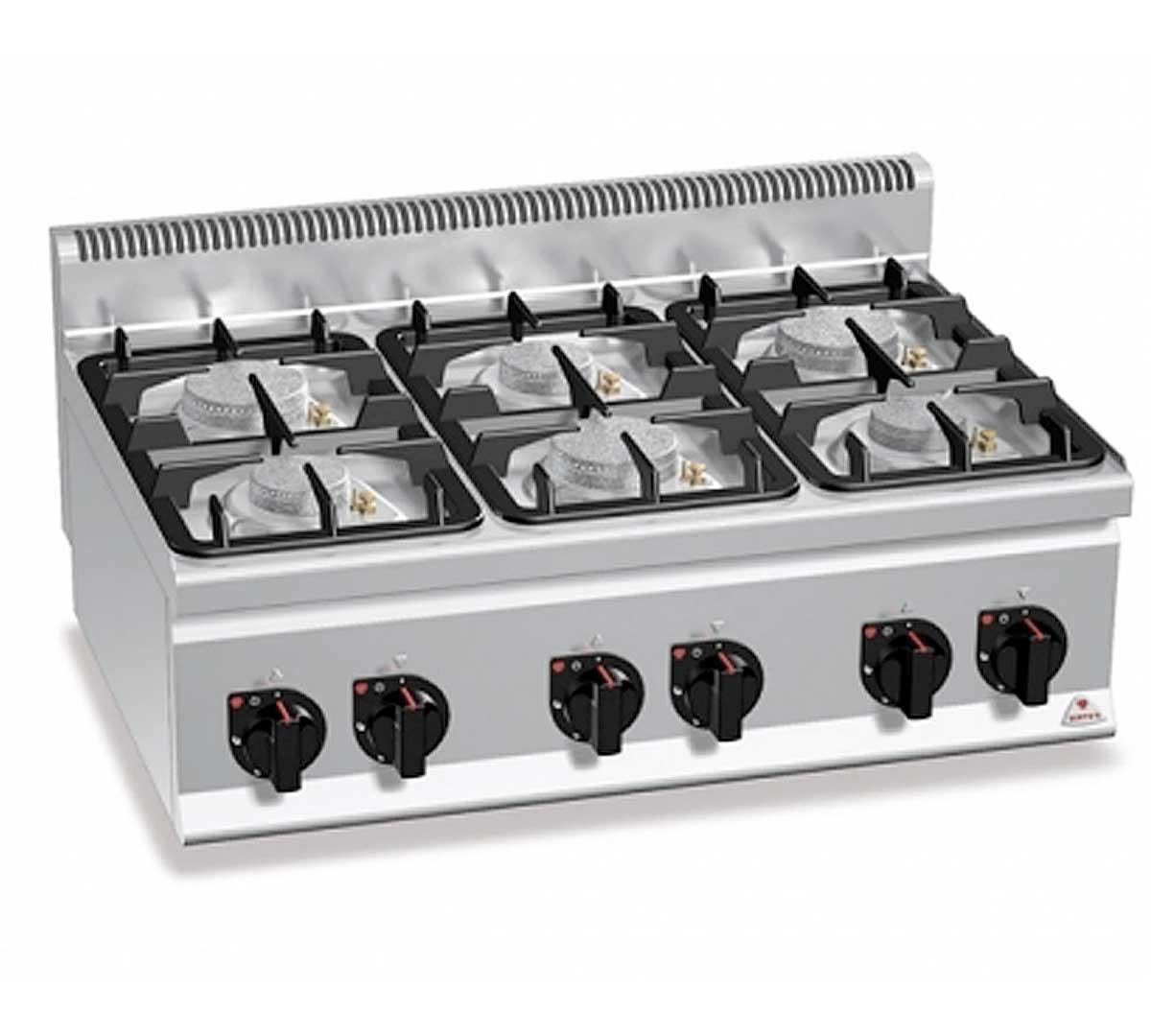 Fogones Cocina | Cocina Serie 600 Eco G6f De Bertos