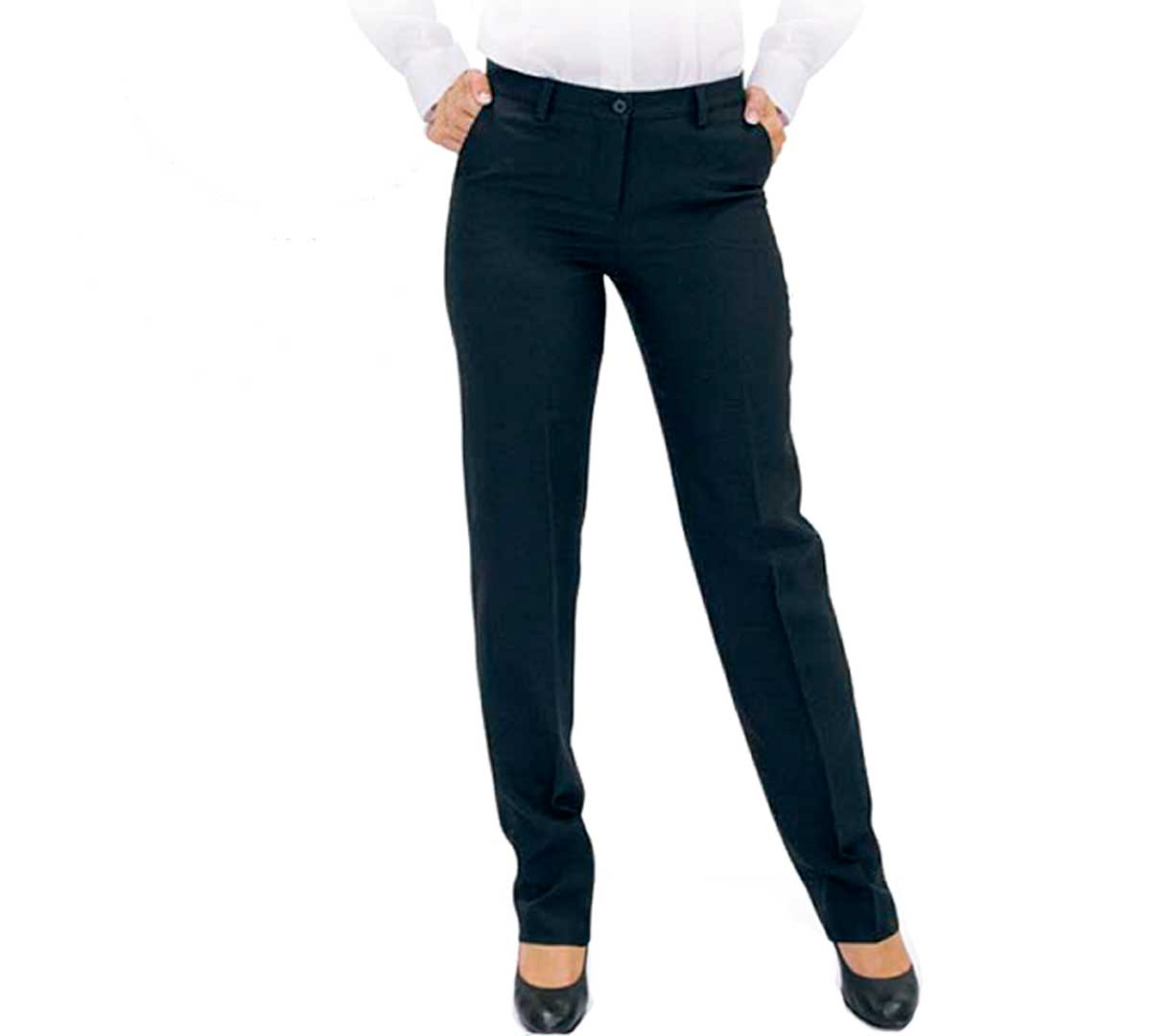 Pantalon Elastico De Mujer Dacobel S 21 6173 Elastico Azul