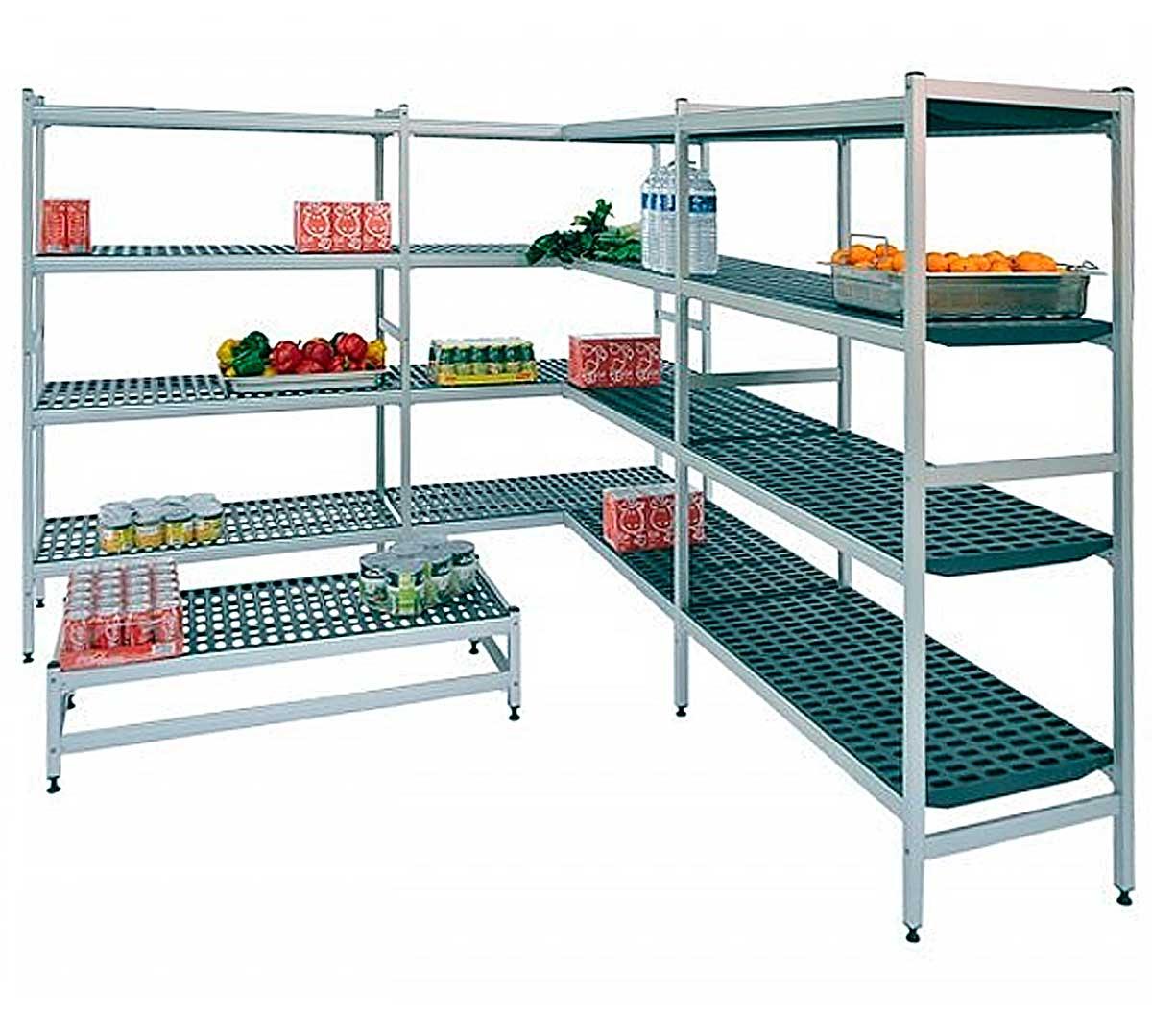 Estanter a distform modular aluminio - Estanterias para cocina ...