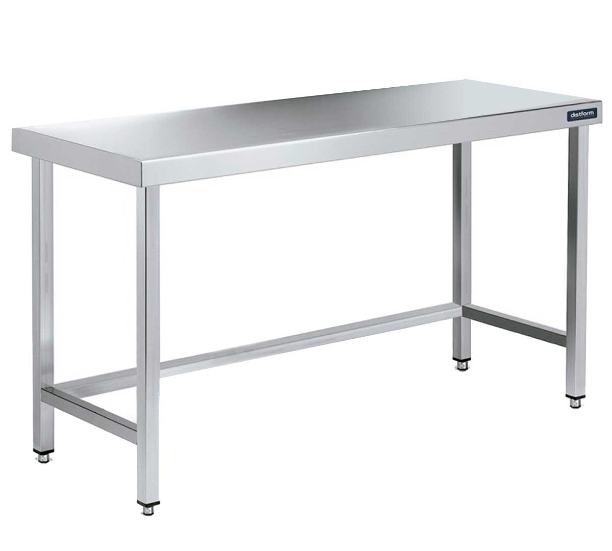 Mesa central distform gama 900 sin estantes for Estante de cocina industrial