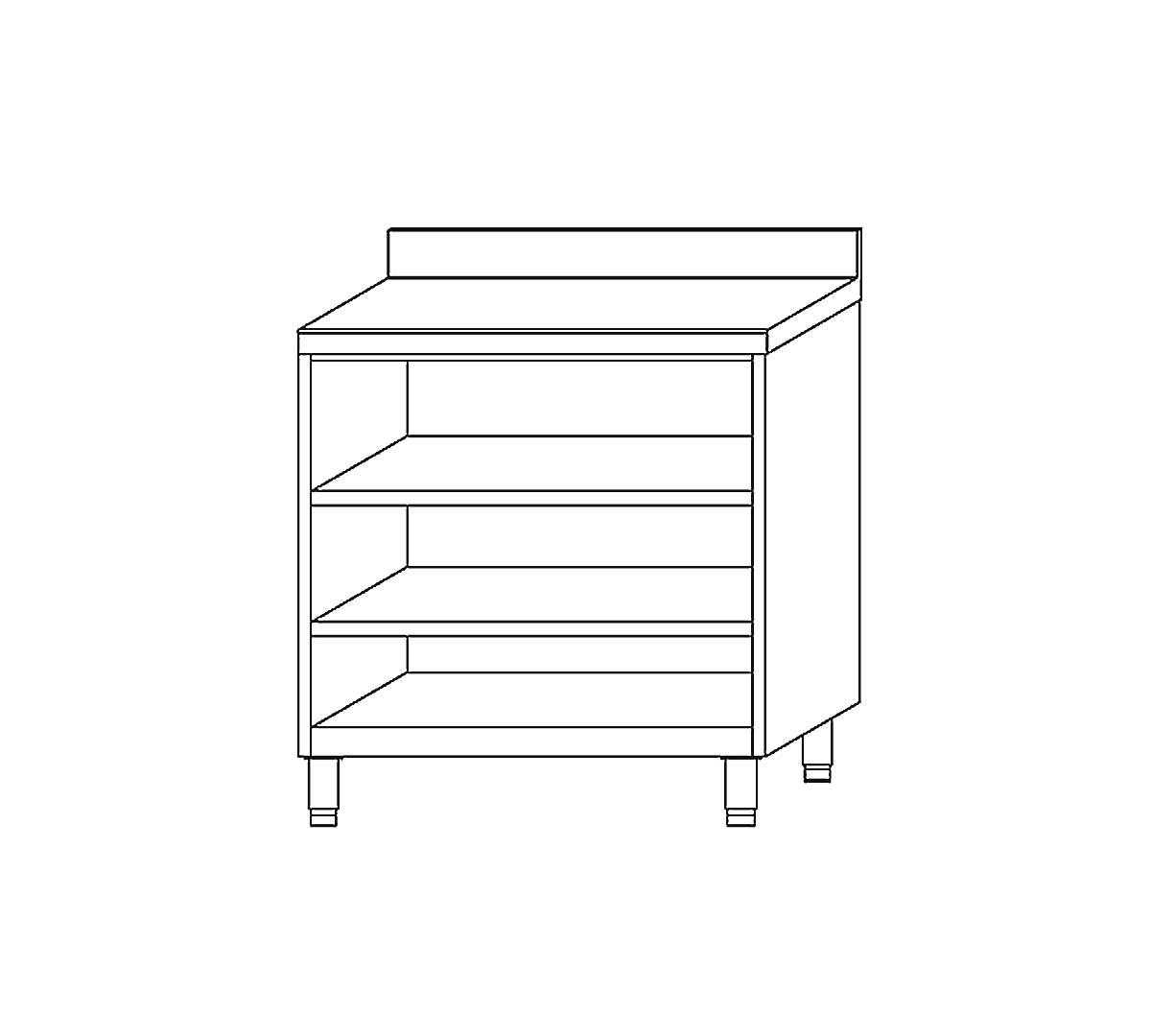 Mueble estanter a ecm60 de docriluc for Mueble 50 cm alto