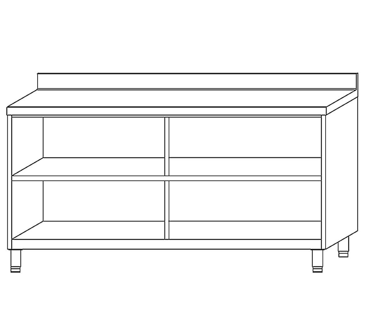 Mueble estanter a ecm60 de docriluc for Mueble cocina 60 x 30