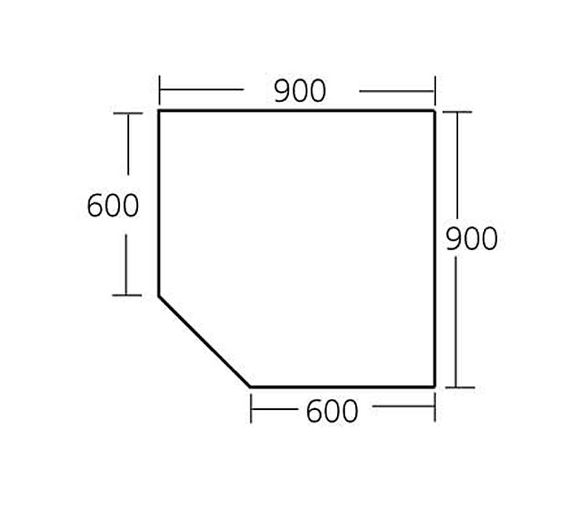 Mesa de ngulo 90 con puertas de edenox - Mesas con puertas ...