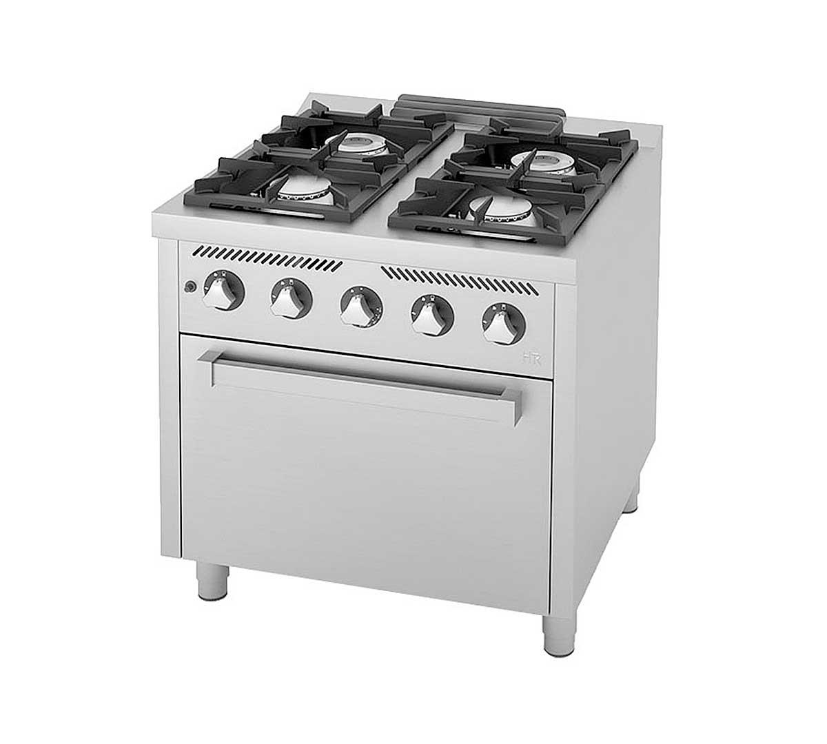 Cocina fainca hr serie 750 c horno - Cocina gas natural con horno ...