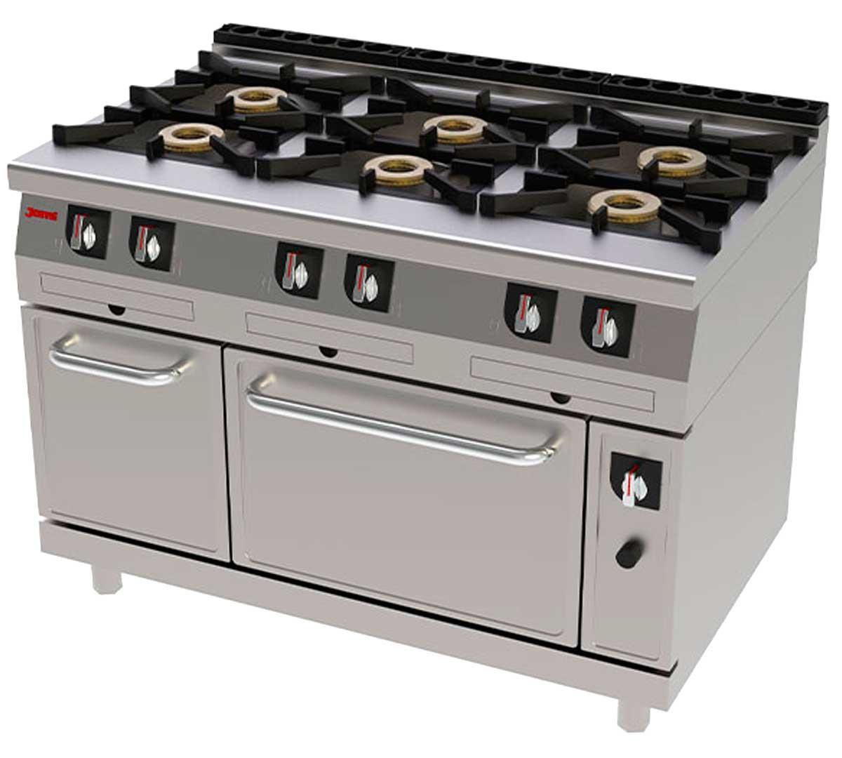 Cocina serie 750 gas con horno de jemi - Fogones a gas ...