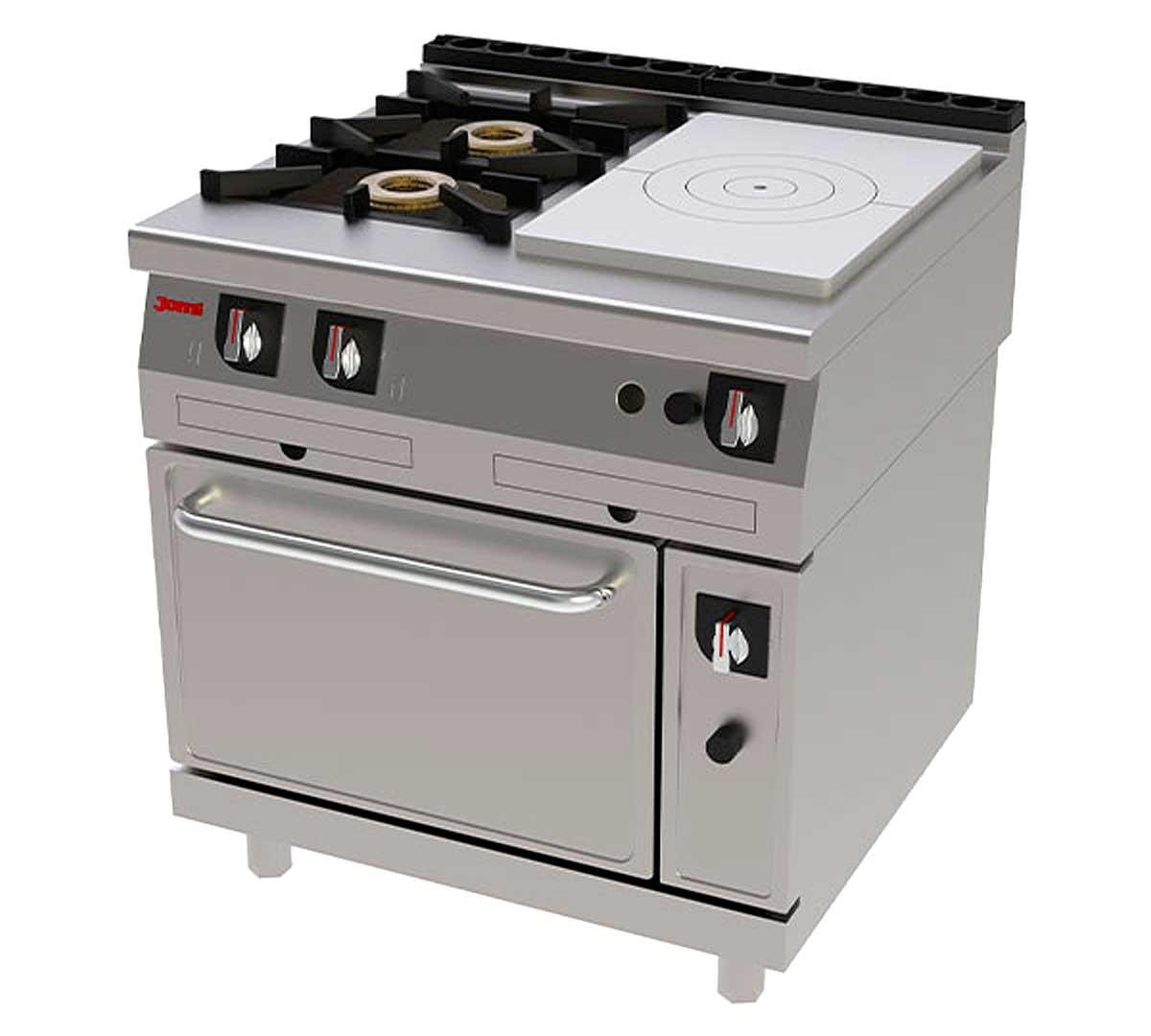 Cocina serie 750 francesa horno de jemi for Cocina francesa canal cocina