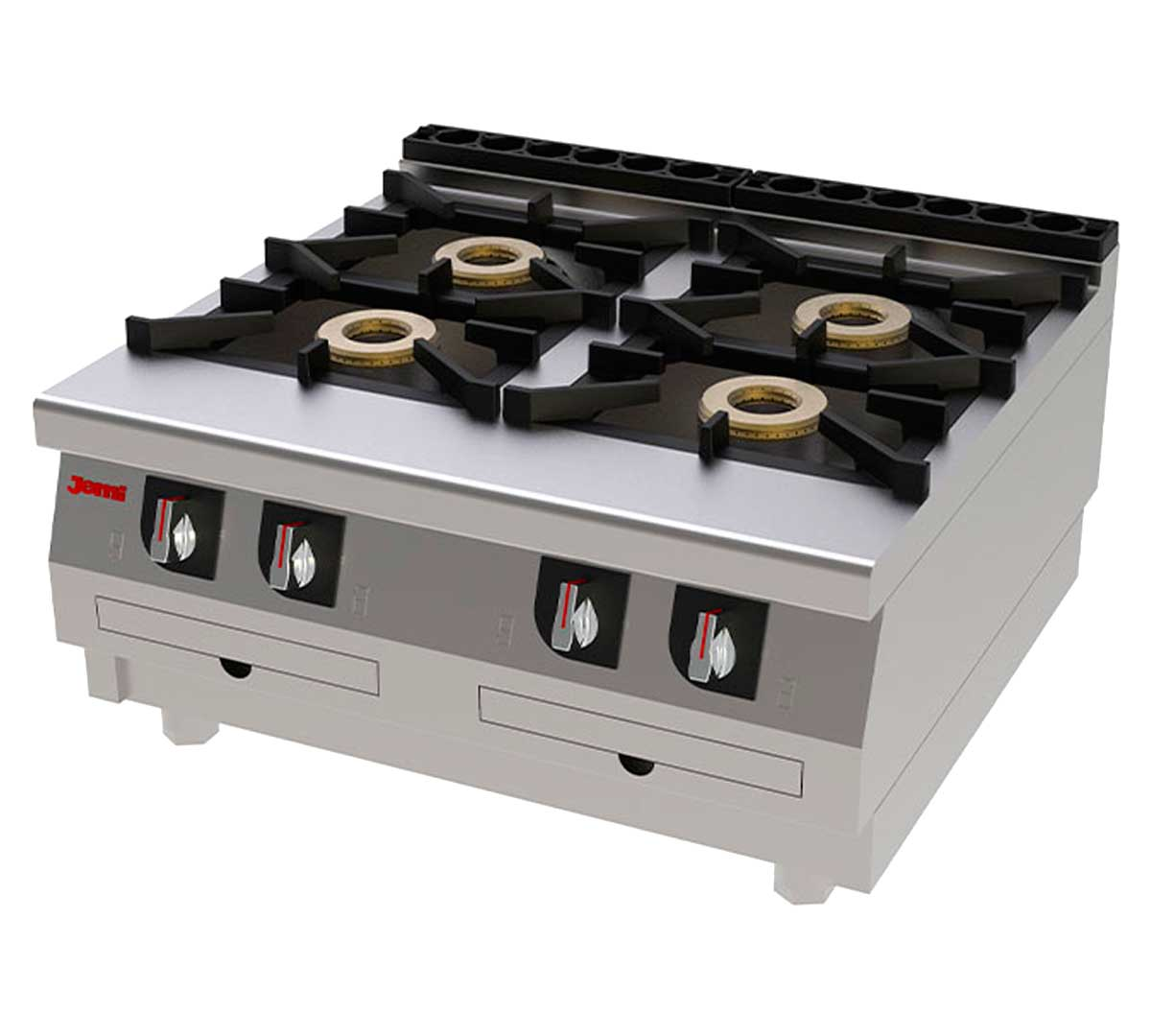 Cocina serie 750 s7 sobremesa gas de jemi - Fogones de butano ...