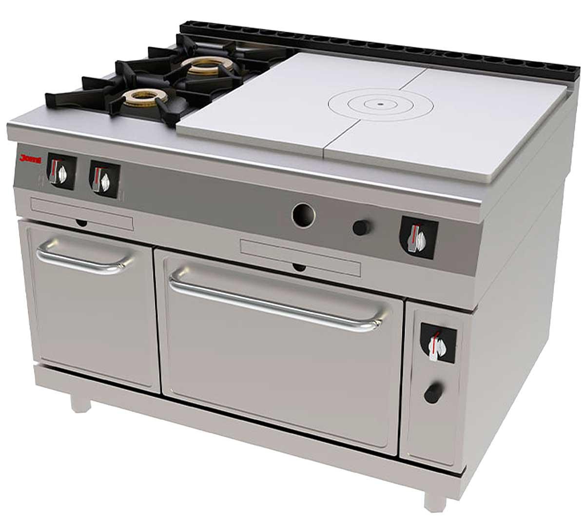 Cocina serie 900 francesa horno de jemi for Cocina francesa canal cocina