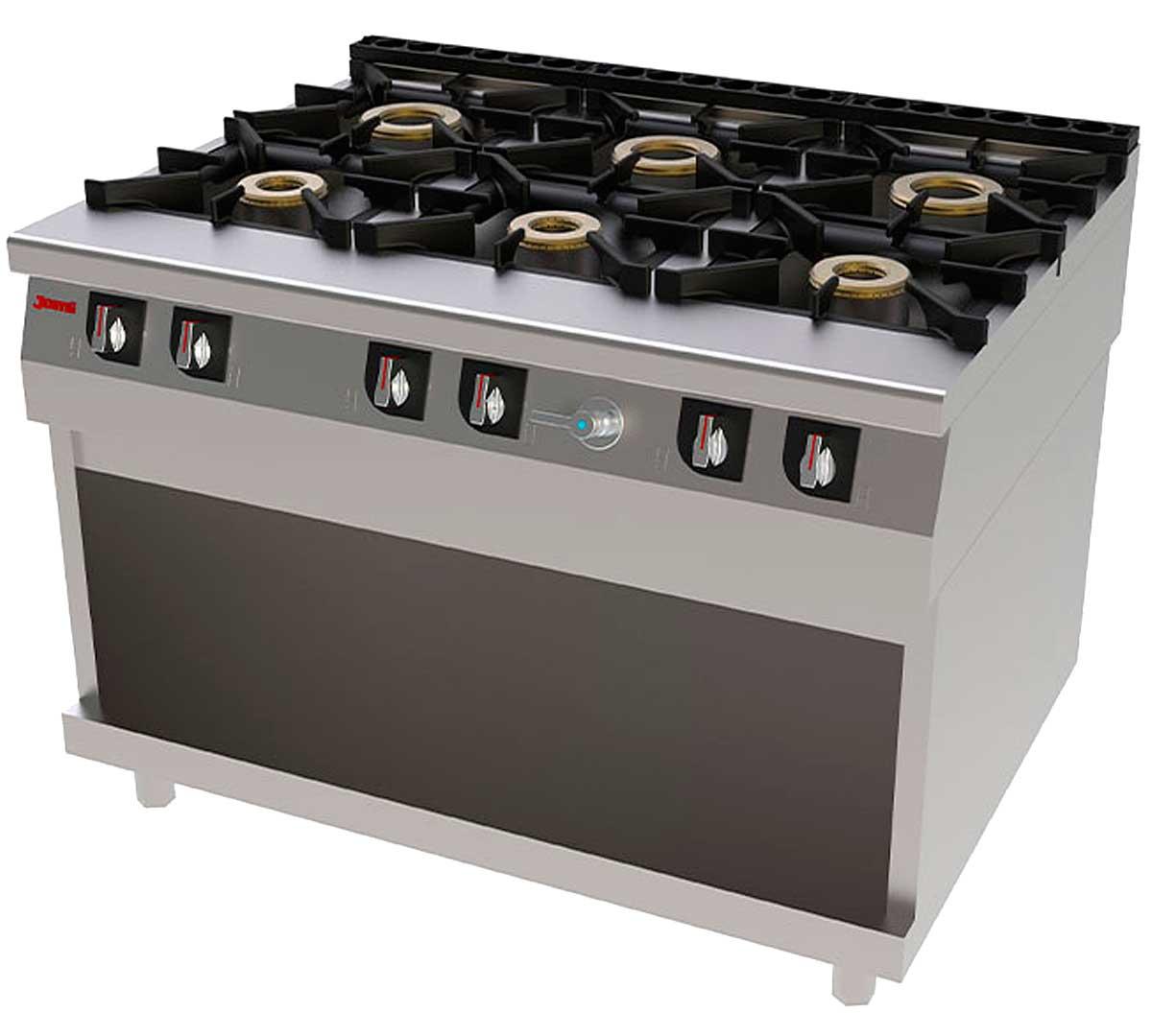 Cocina jemi serie 900 chef - Cocinas butano carrefour ...