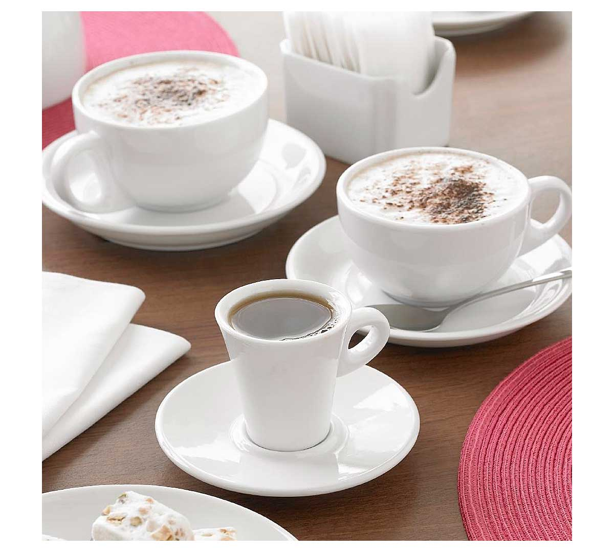 Serie porcelana blanca tazas de olympia for Tazas porcelana