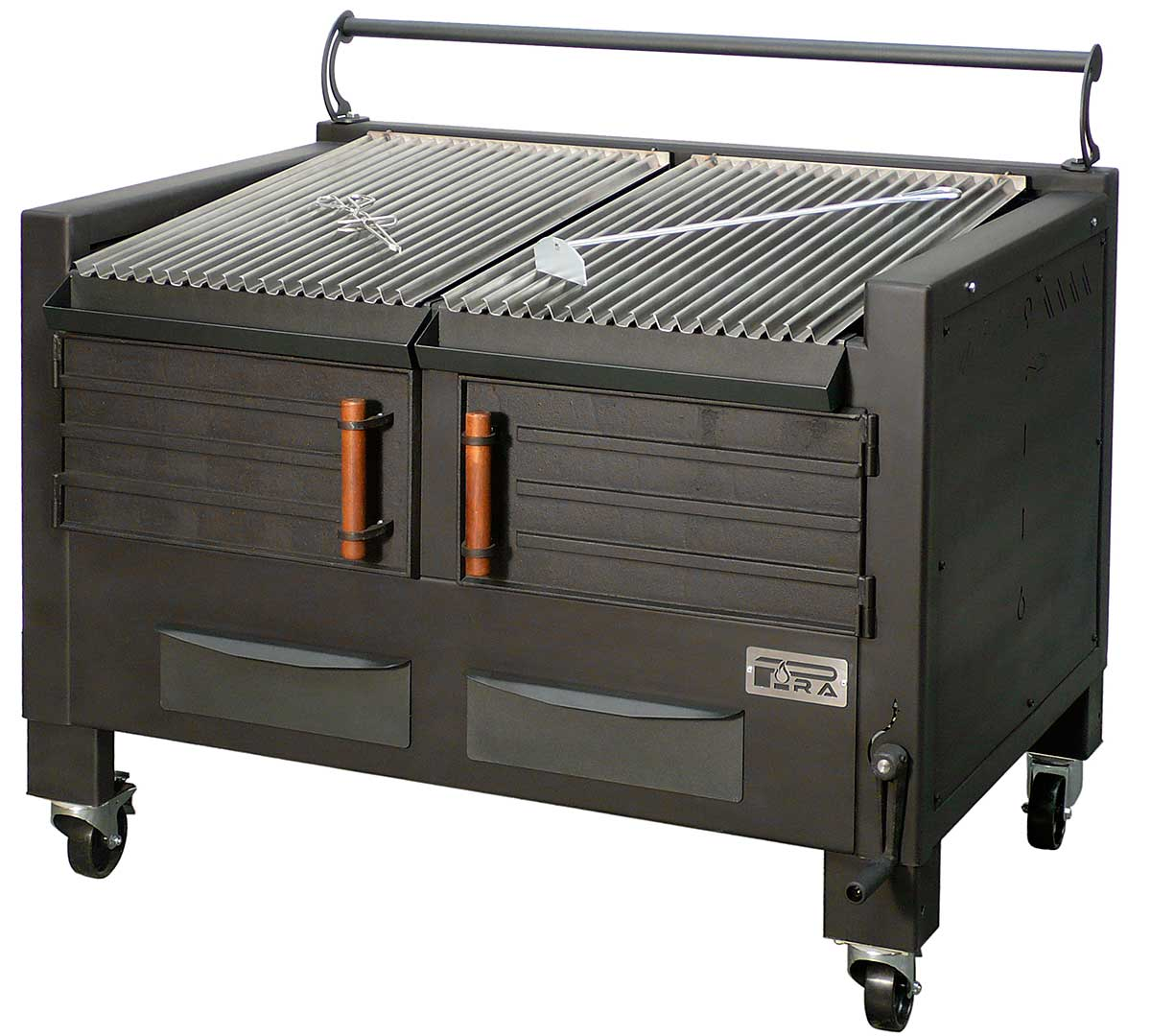 Barbacoa brasa bbq m120 de pira for Barbacoa bbq