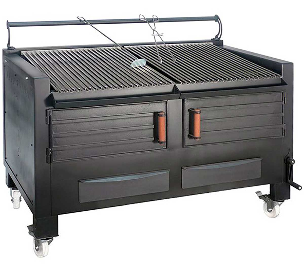 Barbacoa brasa bbq m150 de pira for Barbacoa bbq