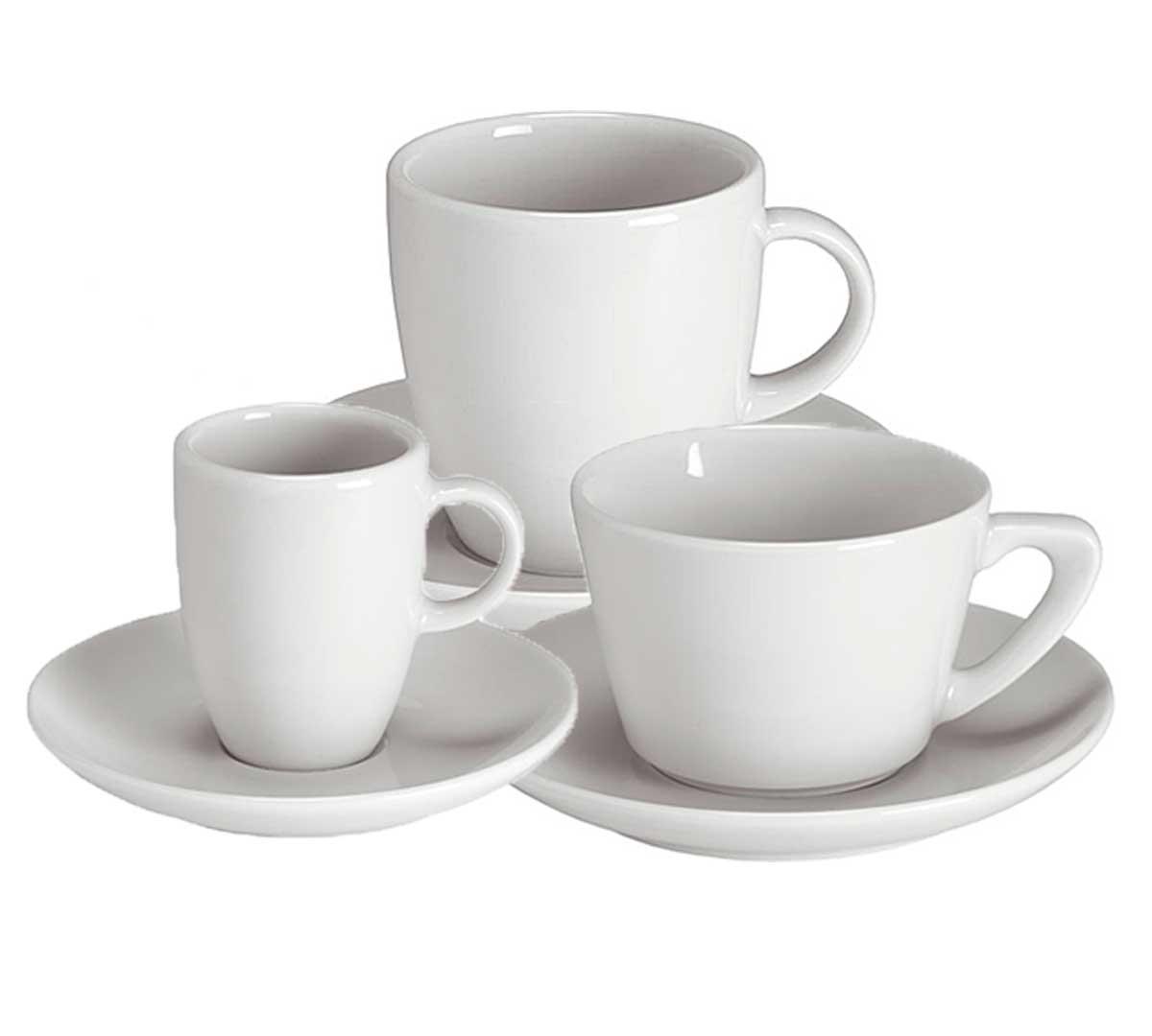 Serie carla tazas y platillos de porvasal for Donde comprar ceramica barata