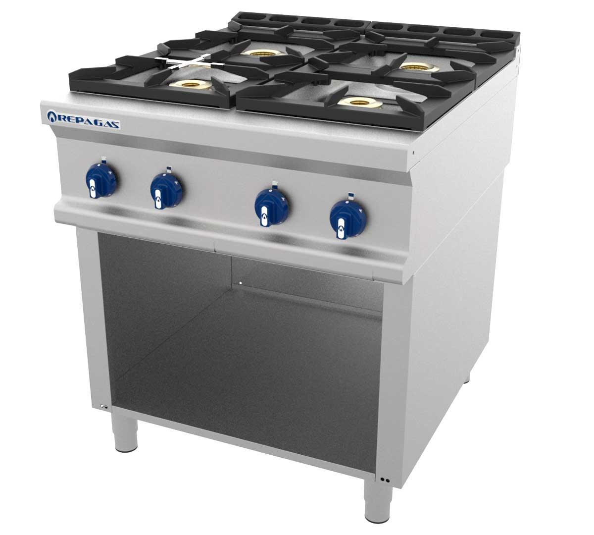 Cocina serie 900 gas de pie de repagas for Cocinas repagas