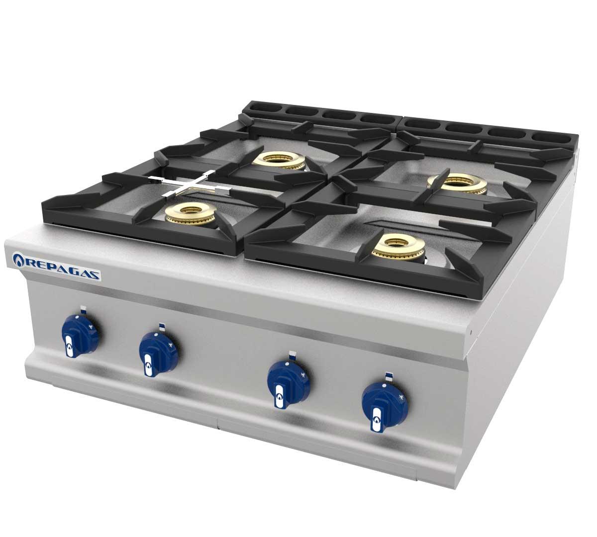 Cocina Serie 900 Sobremesa Gas de Repagas