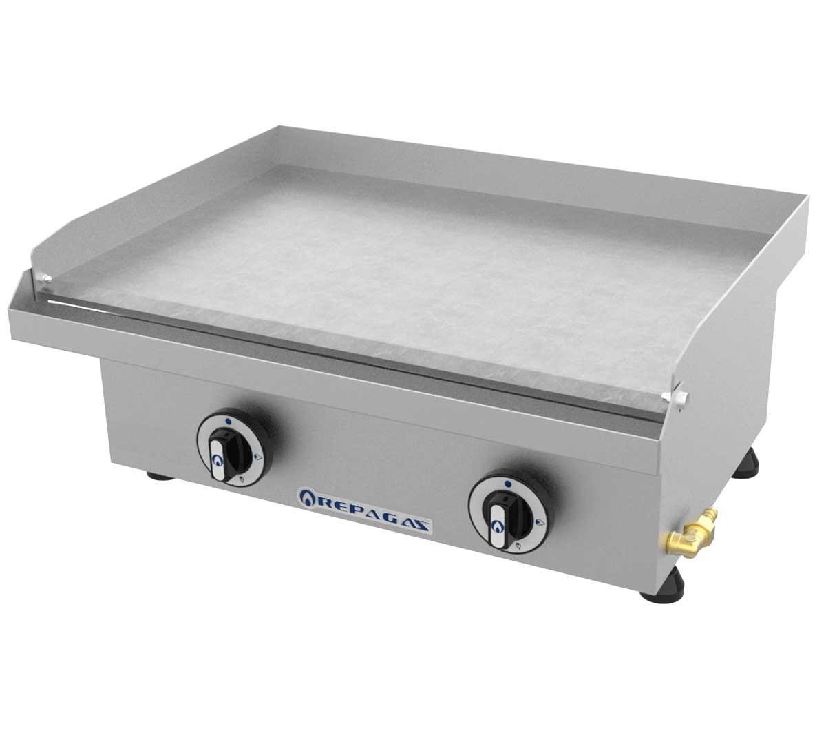 Plancha serie 440 lisa gas de repagas - Plancha para cocina a gas ...