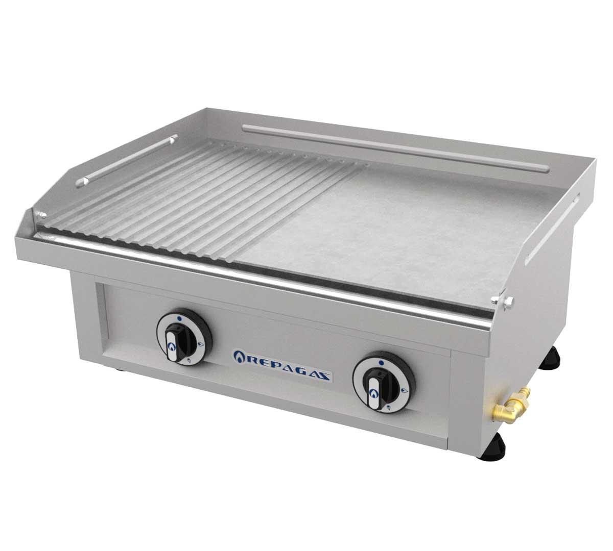 Plancha repagas serie 440 pg mixta - Plancha para cocina de gas ...