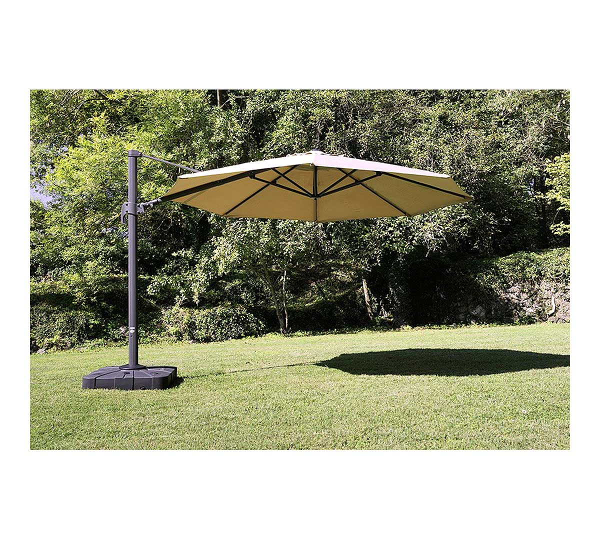 Parasol pie lateral la2 de resol for Recambio tela parasol 3x3