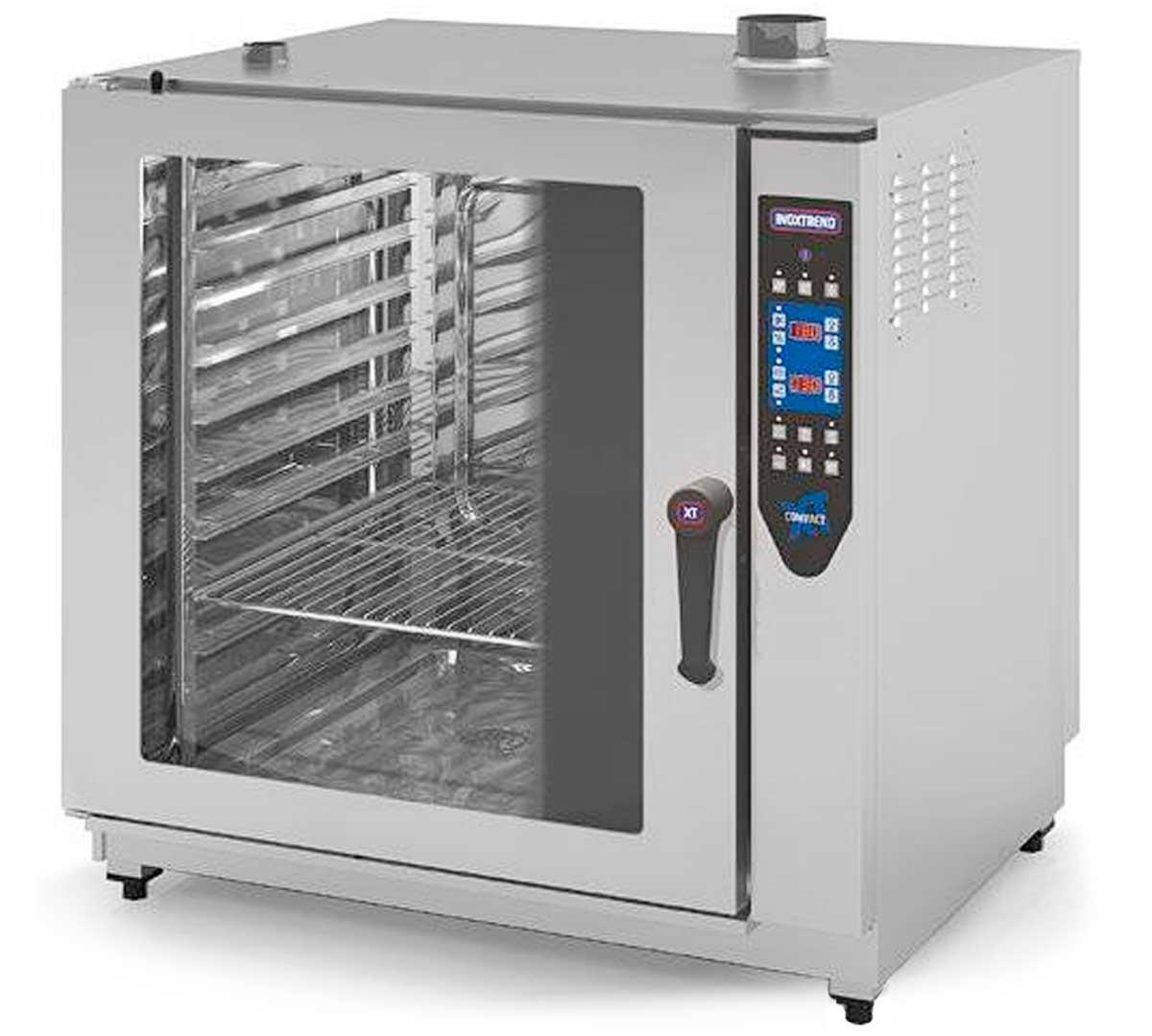 Horno mixto serie compact electr nico cde e de inoxtrend for Medidas de hornos electricos
