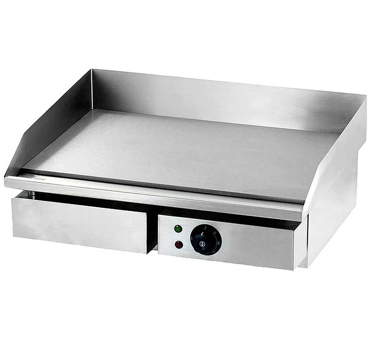 Plancha de acero pe50 de sayl for Plancha electrica cocina