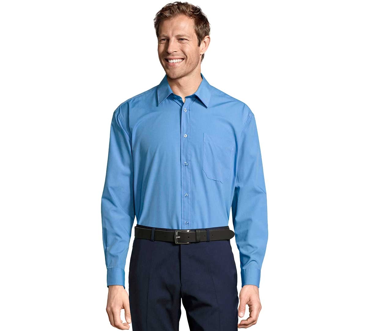 94c7c410e6f ... Sol´s Camisa Hombre Popelín M L Baltimore. Foto 1